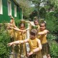 Описание танцевальной композиции «Золотые рыбки»