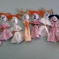 Симпатичные куколки для детей из ложек