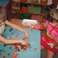 Развивающая игра для детей старшего дошкольного возраста «Волшебный коврик»