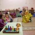 Открытое занятие с детьми первой младшей группы по сказке «Репка»
