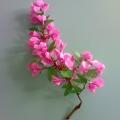 «Яблоня в цвету»— поделка на виноградной веточке.