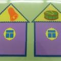 Дидактическая игра для детей старшего дошкольного возраста: «Домики».