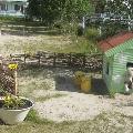 Оформление участков детских садов