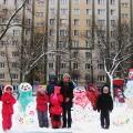 Зимние постройки «Русские Матрёшки»