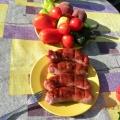 Домашние колбаски на гриле