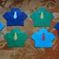 «Мой любимый папочка, для тебя рубашечка!» Поделки к 23 февраля