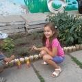 Оформление участка детского сада своими руками.