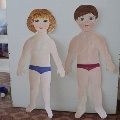 Дидактическое пособие «Одень куклу» (для детей 2–4 лет)