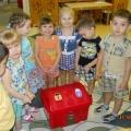 Конспект непосредственно образовательной деятельности для детей 2 младшей группы по математическому развитию по сказке «Пых»
