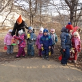 К «Дню птиц». Размещаем кормушки на территории детского сада.