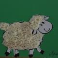 Детские поделки «Веселая овечка»