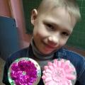 Наши творения для любимых мамочек (воспитателей детского дома)