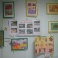 Выставка творческих работ родителей для оформления раздевалки