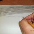 Рисование ластиком «Букет ромашек»