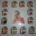 Игра на словообразование прилагательных «Угощение от бабушки»