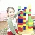 Игры детей с конструктором в средней группе