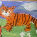 «Кот и сосиска». Детское творчество