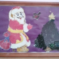 Совместная работа с дошкольниками по изготовлению новогодних поделок