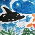 Подводный мир глазами детей. Рисование.