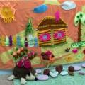 Сенсомоторное панно «Деревня»
