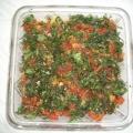 Баклажановый салат с грибами.