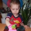Конспект занятия с использованием игрушки из перчатки «Лягушка квакушка— зеленое брюшко»