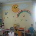 Детский сад должен быть ярким и красочным.