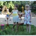 Мастер класс «Олененок». Поделки из пластика для оформления участков в детском саду