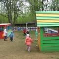 Прогулочный участок в детском саду