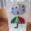 Пособие для развития фонематического слуха у детей старшего дошкольного возраста «Тучка и зонтик»