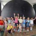 Выездной планетарий в нашем детском саду.