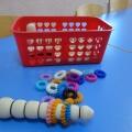 Дидактическая игра «Разноцветная гусеница» для детей 3–7 лет.
