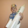 «Ракета наша в космос полетит». Сюжетно-ролевая игра в младшей группе