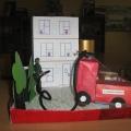 «Пожарная машина и пожарный»