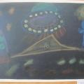Рисунки детей подготовительной группы на тему «Космос»