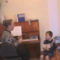 Индивидуальная работа с детьми по музыке.