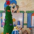 Фотоотчёт. Выставка семейных работ «Новогодний фейерверк»