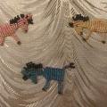 Лошадки-сувениры новогодние из бисера