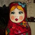 Русская красавица-матрёшка!