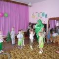 Спортивное развлечение для детей первой младшей группы «Зеленые лягушки»