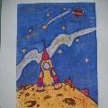 «Мои космические дали»— конкурс детских рисунков