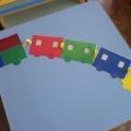 Дидактическая игра «Волшебный поезд»