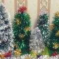 Новогодняя ёлочка из мишуры— за пять минут!!!