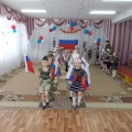 «Аты-баты, мы— солдаты!!!» Отчет о празднике