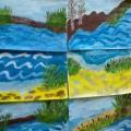Творческие работы детей на тему: «Вода и ее обитатели».