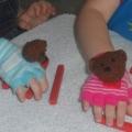 Конспект занятия с использованием тренажер-игрушки «Мишка-косолапый»