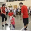 Районные соревнования «Папа, мама и я— спортивная семья»