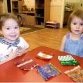 Дидактическая игра «Шуршалочки», способствующая сенсорному развитию детей раннего возраста.