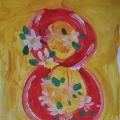 Выставка детских творческих работ: «Праздник наших милых мам!»