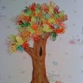 Коллективная работа «Осеннее дерево»